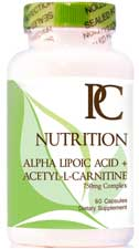 Alpha Lipoic Acid Label