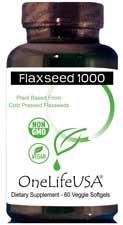 Vegan Organic Flaxseed Oil