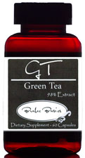500mg pure Green Tea leaves