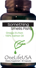 Rich source of healthy Omega-3's – 1000mg per gel cap