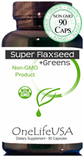 View Super flaxseed plus Greens Label